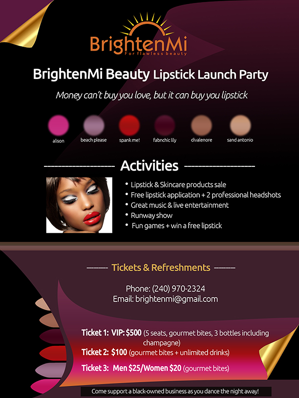lipstick-launch-party-flyer