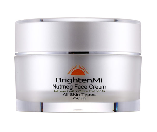 BrightenMi Nutmeg Face Cream Infused with Olive extracts