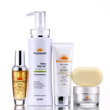 BrightenMi Olive Line Nutmeg 5 set skincare system