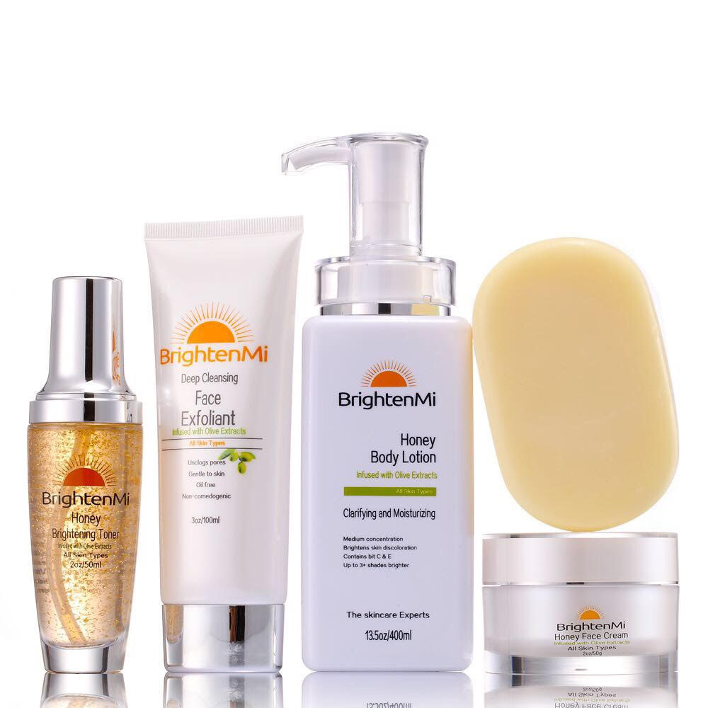 BrightenMi Olive Line Honey 5 set skincare system