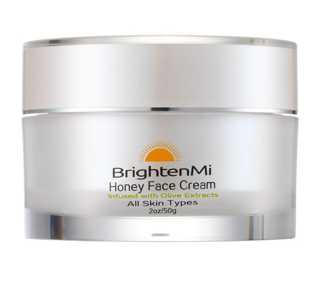 brightenmi honey face cream with olive extracts