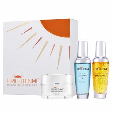 BrightenMi brighten skin regimen gift set